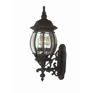 Basic 3-Light Outdoor Sconce by Woodbridge Lighting