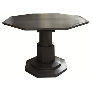 Noir Octagon Solid Wood Dining Table