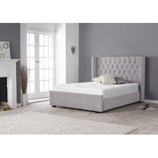 Review Stellan Upholstered Bed Frame