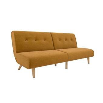 Reily Leatherette Convertible Sofa