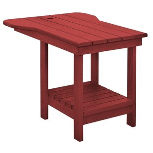 Trinidad Plastic Side Table by Bay Isle Home