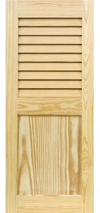 Louver Flat Panel Combination Shutter by Shutters By Design