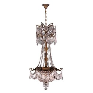 Astoria Grand Reimer Traditional 3-Light Empire Chandelier