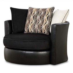 Chelsea Home Grant Swivel Barrel Chair