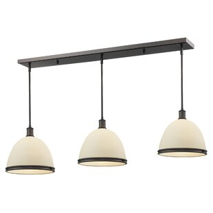 Gracie Oaks Marquise 3-Light Kitchen Island Pendant