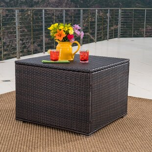 Mercury Row Benbow Wicker Deck Box