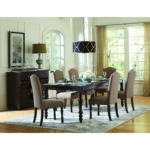 Scoggins 7 Piece Counter Heigh Dining Set by Three Posts