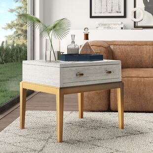 Acrylic Gold End Side Tables You Ll Love In 2021 Wayfair