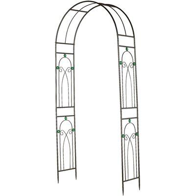 Emerald Series Metal Arbor Arcadia Garden Products