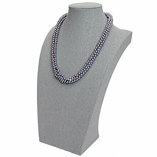 Reviews Covered Large Necklace Jewelry Stand ByIkee Design