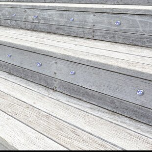 1 Light LED Deck Step And Rail Light (Set Of 10) By Symple Stuff