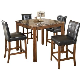Marcy 5 Piece Counter Height Dining Set