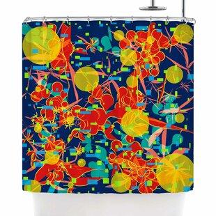 Frederic Levy-Hadida Foliage Folie 2 Single Shower Curtain