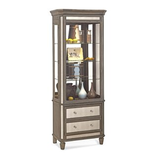 Presidio Lighted China Cabinet