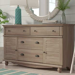 Pinellas 4 Drawer Combo Dresser