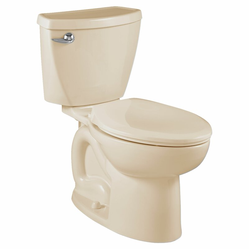 American Standard Cadet 3 1 6 Gpf Elongated Two Piece Toilet Seat Included Wayfair