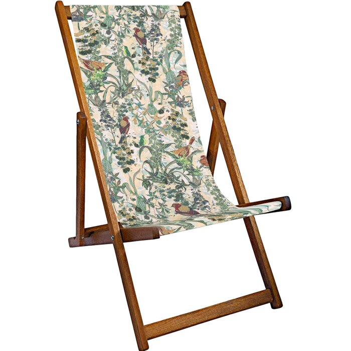 Outstanding Louise Reclining Deck Chair Dailytribune Chair Design For Home Dailytribuneorg