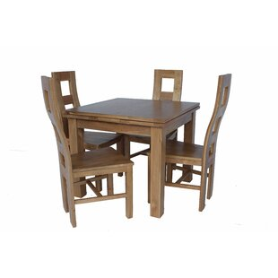Pecoraro 5 Piece Extendable Dining Set Loon Peak