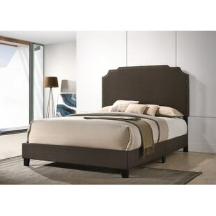 Schuman Upholstered Panel Bed by Charlton Home