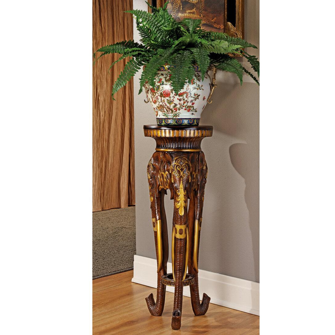 Design toscano majestic elephant pedestal plant stand reviews design toscano majestic elephant pedestal plant stand reviews wayfair reviewsmspy
