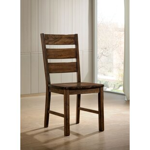 Nesbit Industrial Dining Chair (Set of 2) Loon Peak