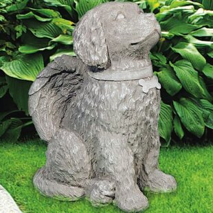 Ordinaire Angelic Dog Statue