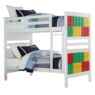 Check Prices Knudsen Twin Over Twin Bunk Bed by Zoomie Kids Reviews (2019) & Buyer's Guide