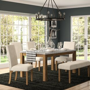 Arthur 6 Piece Dining Set by Laurel Foundry Modern Farmhouse 2019 Sale