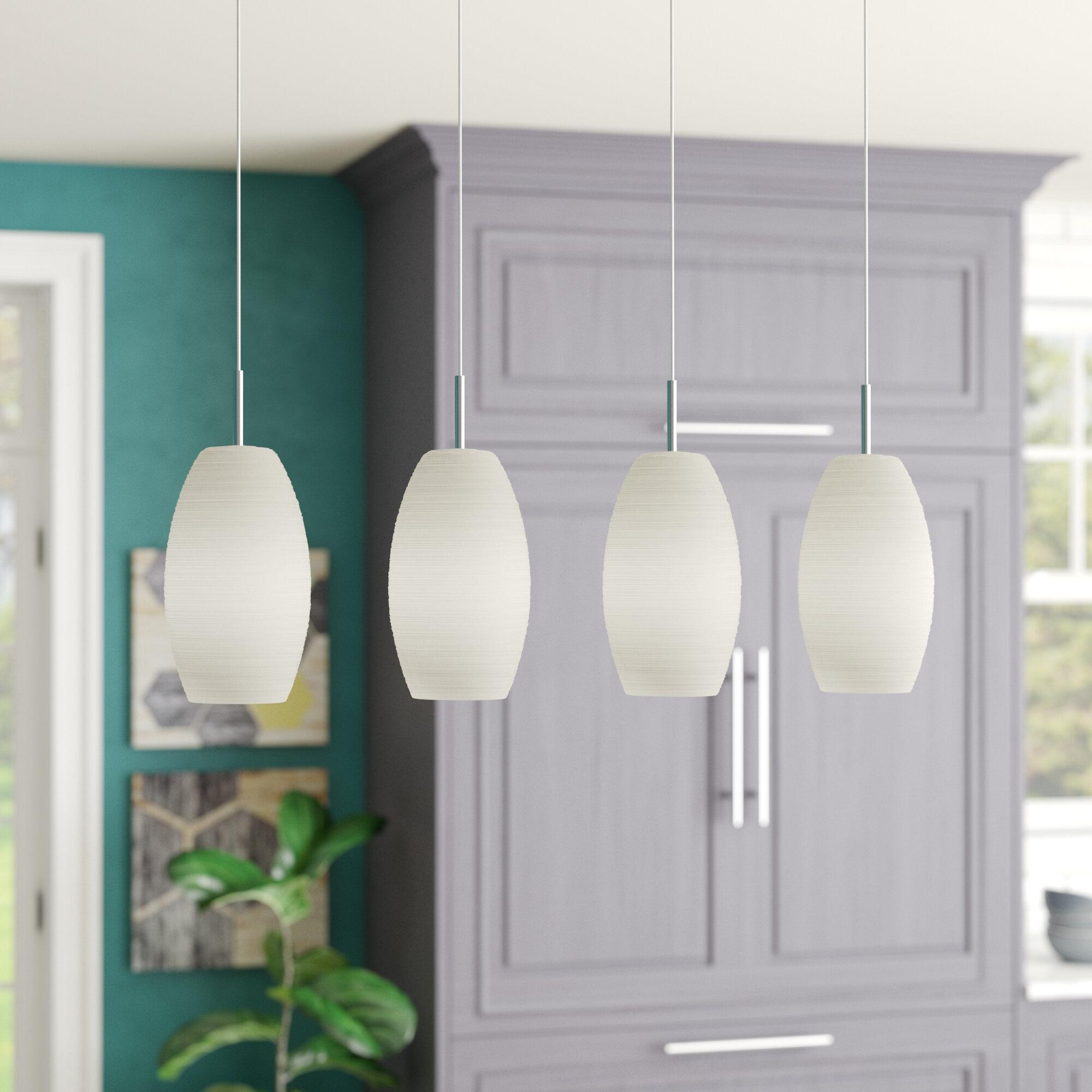Brayden studio anna 4 light kitchen island pendant reviews wayfair