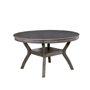 Margareta Solid Wood Dining Table by Gracie Oaks Best Design