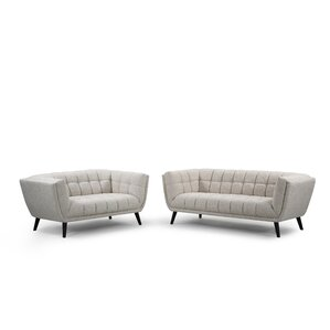 Odessey 2 Piece Living Room Set by Noble House