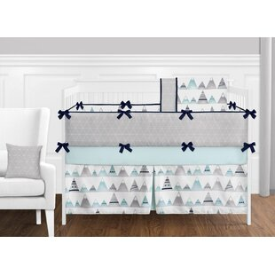 Low priced Mountains 9 Piece Crib Bedding Set BySweet Jojo Designs