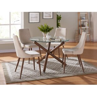 Helsdon 5 Piece Dining Set Corrigan Studio