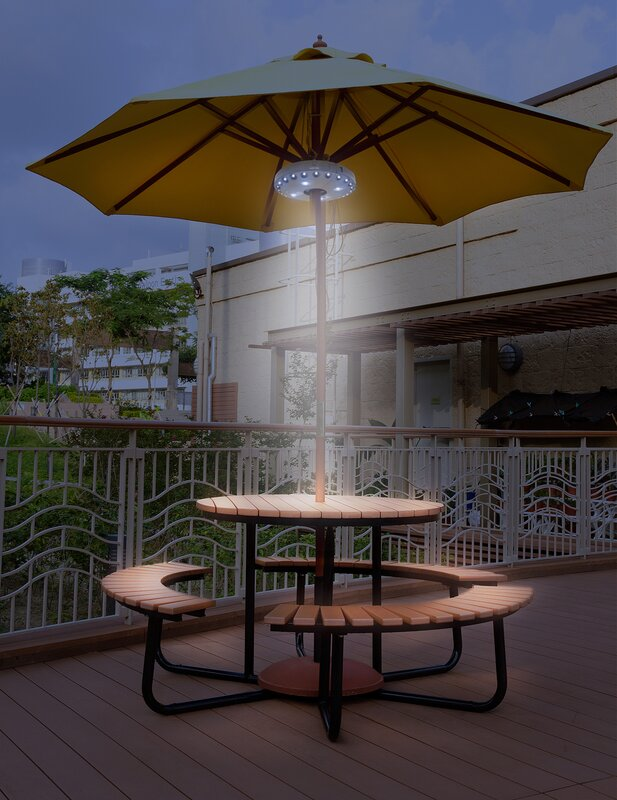 Sorbus patio umbrella light reviews wayfair patio umbrella light mozeypictures Gallery