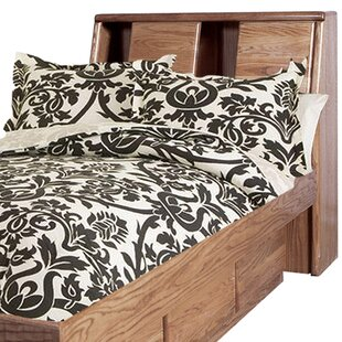 Reviews Lehman Twin Bookcase Headboard By Loon Peak