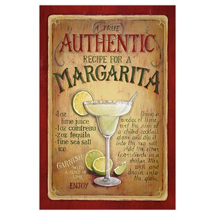 Authentic Margarita by Lisa Audit Vintage Advertisement on Canvas by iCanvas