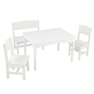 Nantucket Kids 4 Piece Writing Table and Chair Set by KidKraft