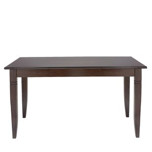 Gomez Solid Wood Dining Table by Breakwater Bay 2019 Online