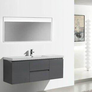 Lina 59 Single Bathroom Vanity Set by Orren Ellis