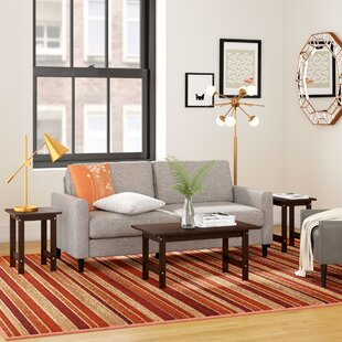 Best Reviews Everett 3 Piece Coffee Table Set By Zipcode Design