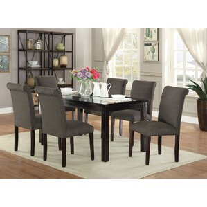 Abbot Bridge 7 Piece Dining Set by Red Barrel Studio