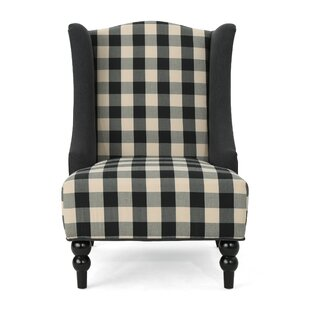 Charlton Home Alejandra Wingback Chair