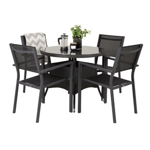 Mitul 4 Seater Dining Set By Sol 72 Outdoor