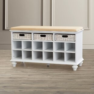 21.75 Traditional 6 Pair Shoe Storage Bench by Darby Home Co