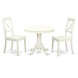 3 Piece Dining Set By East West Furniture Bargain