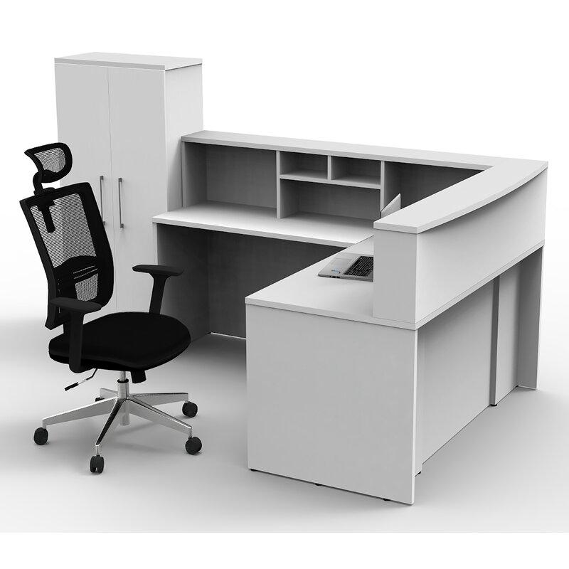 Latitude Run Office Reception Centre Desk Collaboration