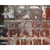 "Mullican Warehouse Brick 8' x 118"" 6 Piece Wall Mural Set"