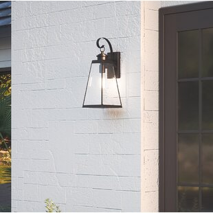 Affordable Price Winooski Outdoor Wall Lantern By Gracie Oaks