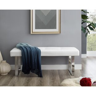 Vannatta Faux Leather Bench by Orren Ellis