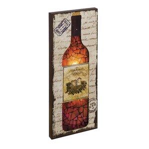 Wine Bottle Wall Decor wine bottle wall rack | wayfair
